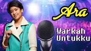 [Lirik Video] Ara AF2016   Warkah Untukku