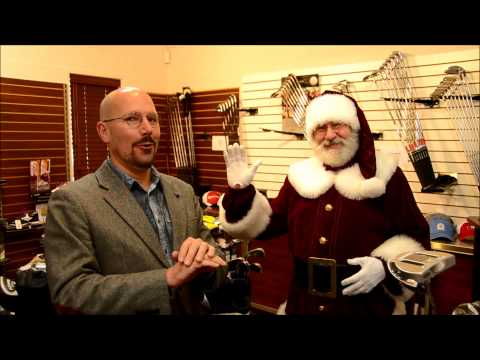 Père Noël à la Boutique de golf du Club de golf La Providence
