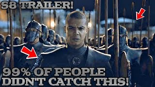 They Were Hiding ALOT |  Game of Thrones Season 8 Trailer Enhanced Analysis | What we missed!