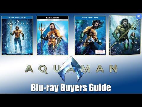 Aquaman Blu-ray Release Date   Buyers Guide   4K, 3D, Best Buy SteelBook, Target, Amazon, Walmart