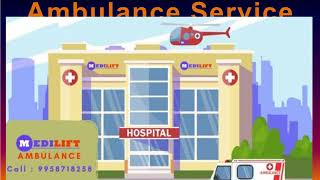Quality Medilift Ambulance Service in Saket