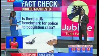 Fact check : Jubilee Manifesto