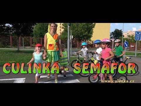 Culinka - Semafor (oficiální klip) Písničky pro děti