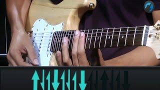 Jota Quest - Mandou Bem (como tocar - aula de guitarra)