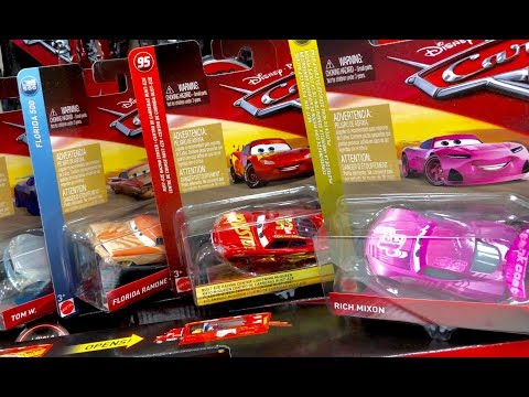 New Disney Cars 3 Toys Hunt - 2018 Disney Cars Found At Target Exclusive Rusteze Lightning McQueen