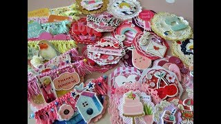 Craftupdate!   Card Candy Mit Doilies