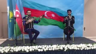 Музыканты из Азербайджана исполнили этническую музыку в эксклюзивной авторской импровизации