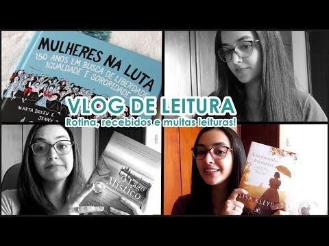Vlog de Leitura: rotina, recebidos e muitas leituras! l 2019