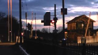 preview picture of video 'Breckland Line, Brandon Station 09.03.2012'