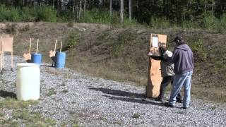 preview picture of video 'Ridgway Rifle Range IDPA September 15, 2013 Stage 4'