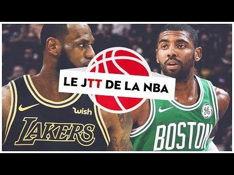 Le calendrier NBA 2018-19