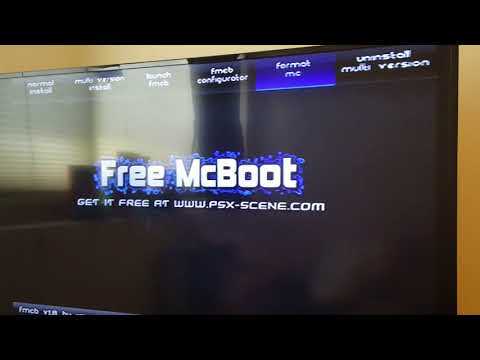 PS2 Install Free MCBoot Onto Memory Card! (Version 1 966) 2019
