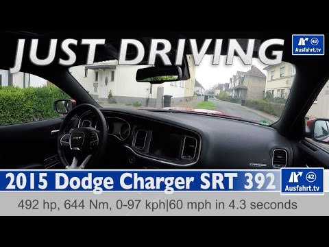 2015 Dodge Charger SRT 392 - just driving - on autobahn, country road and in the  city