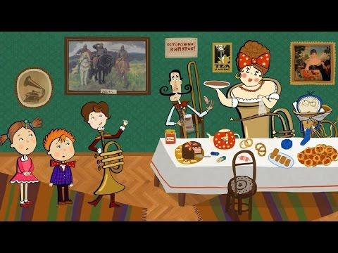 Видеть музыку - Развивающий мультфильм для детей видео