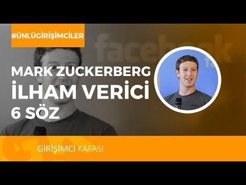 Mark Zuckerberg'ten ilham Verici 6 Söz!