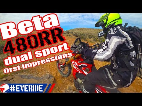 Beta 480RR Dual Sport Motorcycle First Impressions – Spoilers: IT'S GOOD! #everide