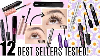 SEPHORA BEST SELLERS MASCARAS TESTED || Best & Worst || Reviews + Close Ups!!
