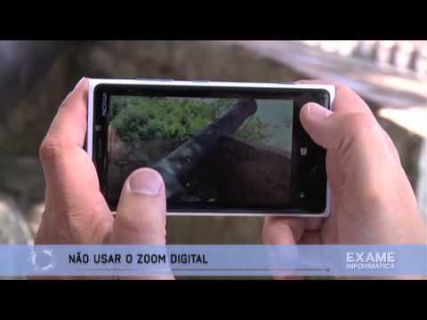 Tirar fotografias com o Smartphone