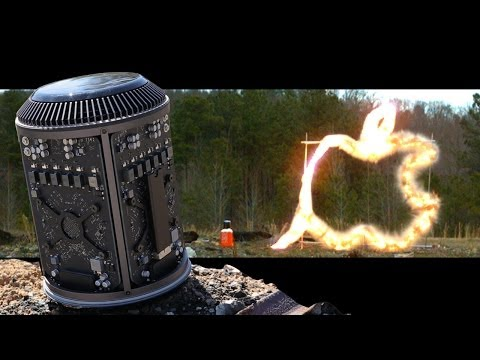 These Guys Filled A New Mac Pro With C4 Explosive And Blew It Up