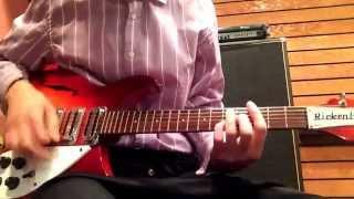 The Beatles-Cry For A Shadow-Rhythm Guitar-RICKENBACKER 1996
