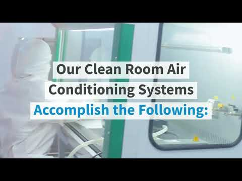 Video thumbnail for Clean Room Air Conditioning | Custom HVAC and Cleanroom Systems