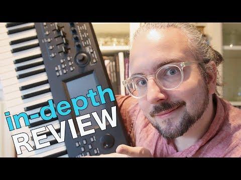 Yamaha MODX Synthesizer REVIEW + Sound Demo & Tutorial