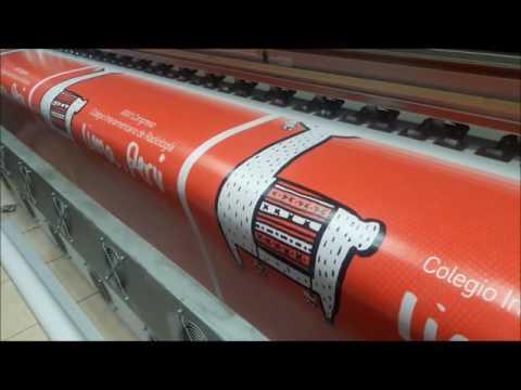 Impresion de banner para Roll Screem Perú  Gigantografia Wilson
