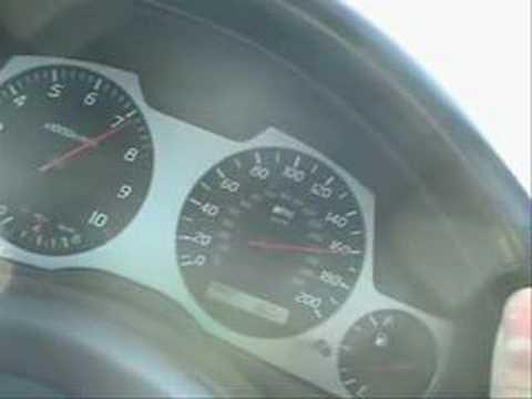 super fast GTR34 in-car video
