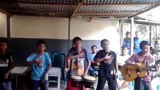 Wow .... Anak -anak ini menyanyikan lagu hip hip hura hura dengan versinya