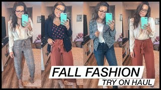 Getting Ready For Fall Fashion - Try On Haul | Business Casual + Date Night