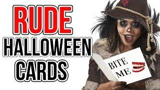 10 Halloween Card Ideas - Handmade Rude Card #5