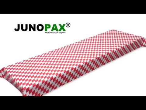 JUNOPAX - die abwischbare Papiertischdecke (TV-Spot)
