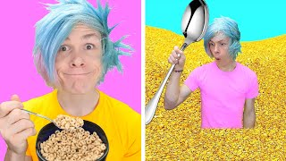 Trying AM I GENIUS OR WHAT?    5 Funny Food And Beauty Life Hacks That Are Actually Genius by 123GO!