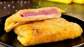 Быстрый завтрак, сытный и очень вкусный! | Appetitno.TV