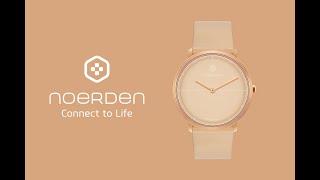 NOERDEN LIFE2+ 必要な機能を凝縮ハイブリッドスマートウォッチ デザインエディション