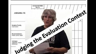 How to Judge and Evaluation Contest