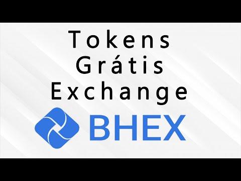 Ganhe Muitos Tokens Grátis ao registrar-se na Exchange Bhex. Paga em 7 dias Corre !