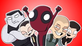 ♪ DEADPOOL THE MUSICAL -  Animated Parody Song