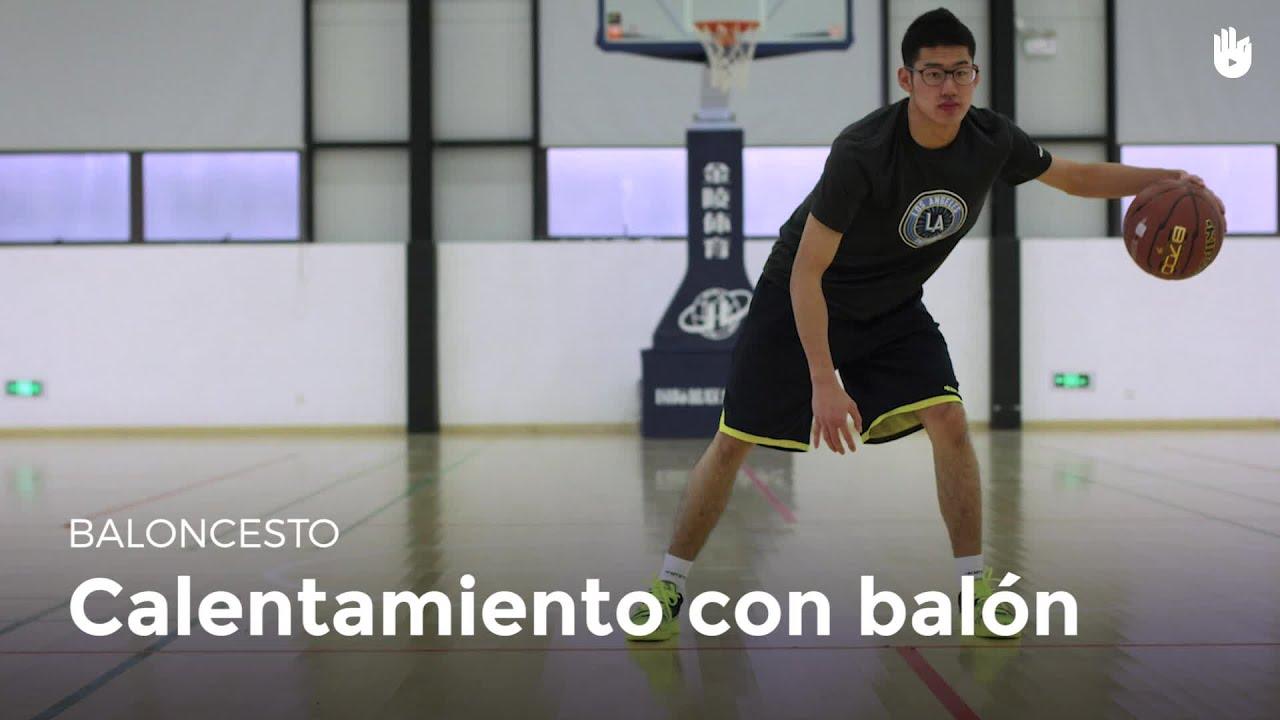 Calentamiento Con Bal 243 N Claves Del Baloncesto Sikana