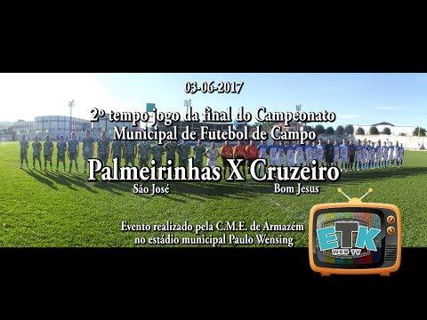 2 Tempo Jogo Palmeirinhas X Cruzeiro em Armazém SC