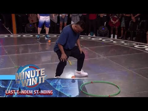 Tira Banana | Minute To Win It - Last Tandem Standing