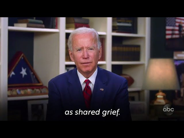 Joe Biden Says We All Grieve With You | The View