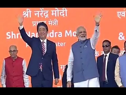 PM Modi & PM Abe of Japan to lay foundation stone for India's first High Speed Rail project
