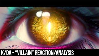 "Evelynn's realm of the senses || K/DA ""VILLAIN"" analysis"