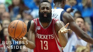 NBA Ref Explains Why The James Harden Step Back Isn