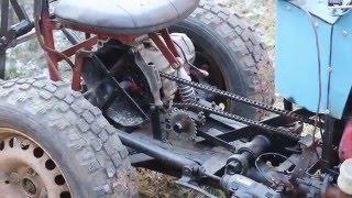 Tractoras Artizanal