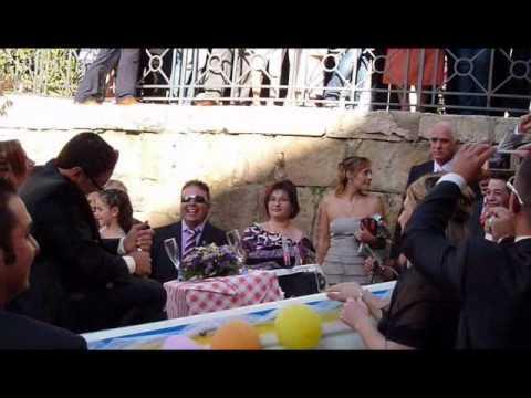 Rosalia e Salvatore sposi Alia 12 agosto 2010