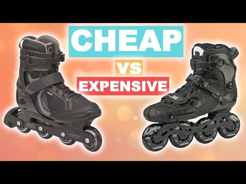 CHEAP VS EXPENSIVE INLINE SKATES - PART 1