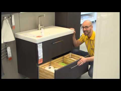 GODMORGON Sink Cabinet - IKEA Home Tour