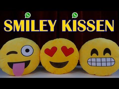 """""""WHATSAPP SMILEY KISSEN"""" -Vorstellung"""